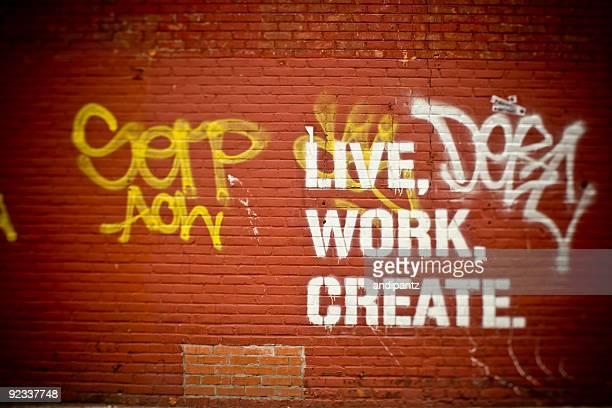 live Arbeit erstellen