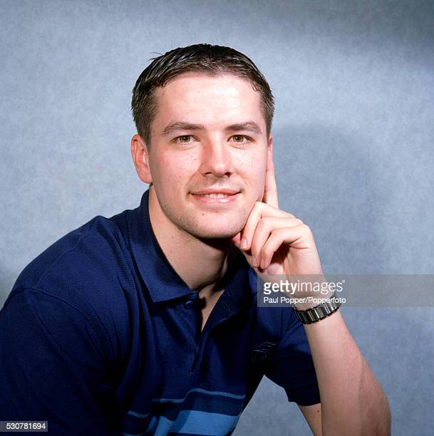 Liverpool and England footballer Michael Owen circa 1998