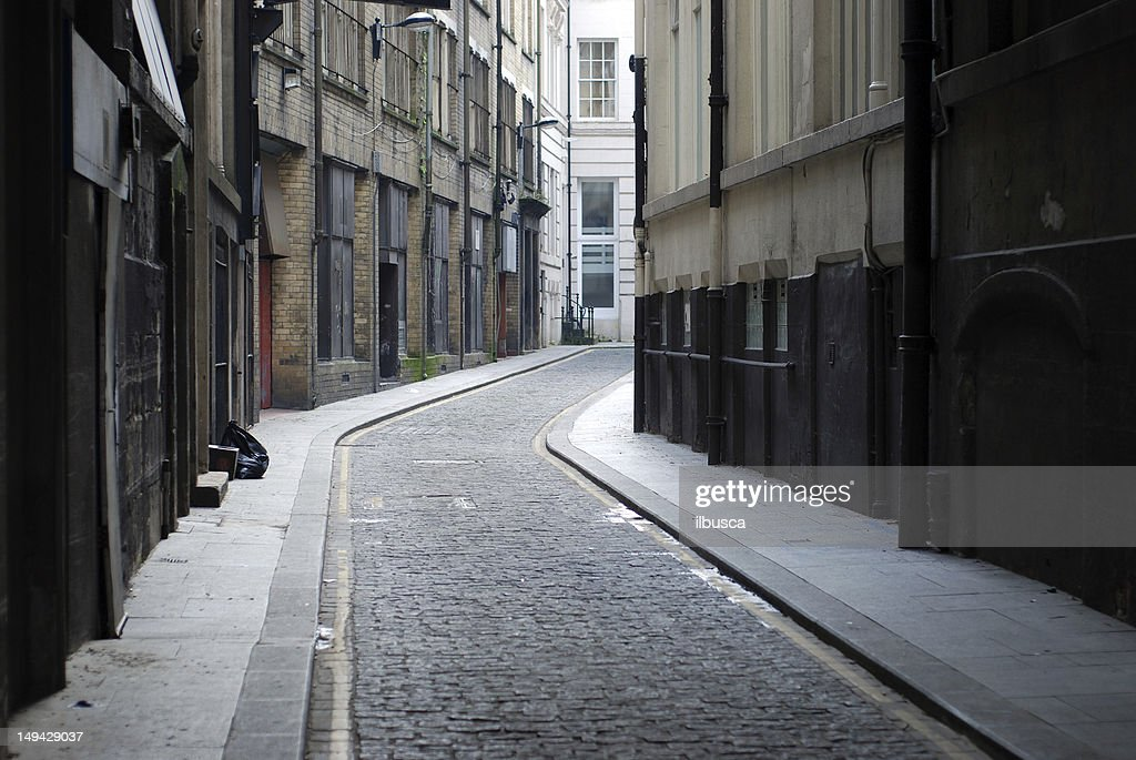 Liverpool backstreet