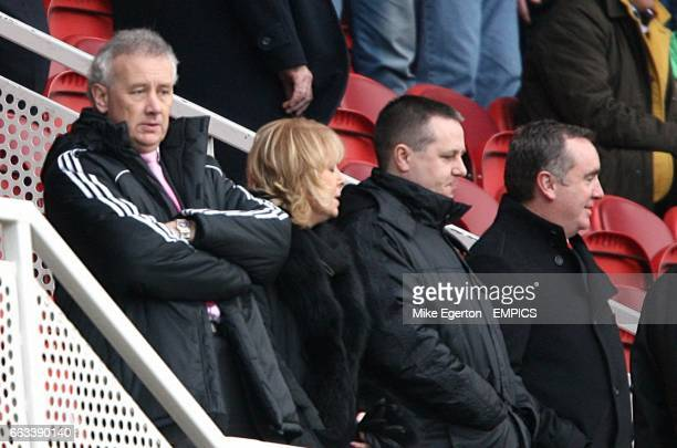 Liverpool chief executive Rick Parry in the stands