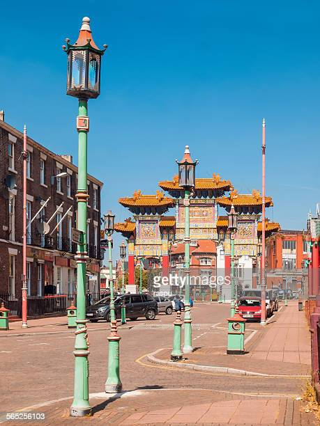 Liverpool, Chinatown area