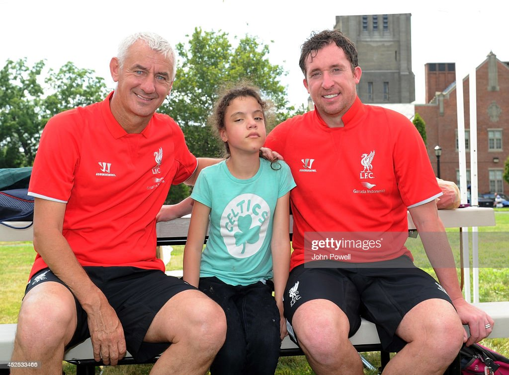 Liverpool FC Legends Robbie Fowler And Ian Rush Visit Perkins School for the Blind
