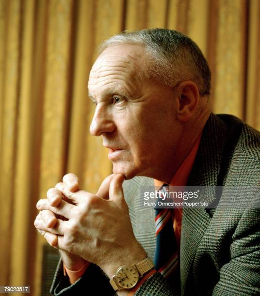 Sport Football England A portrait of legendary Liverpool FC Manager Bill Shankly