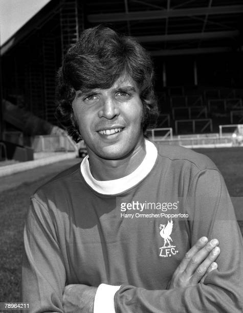 Liverpool FC Photocall Peter Cormack 31st July 1975
