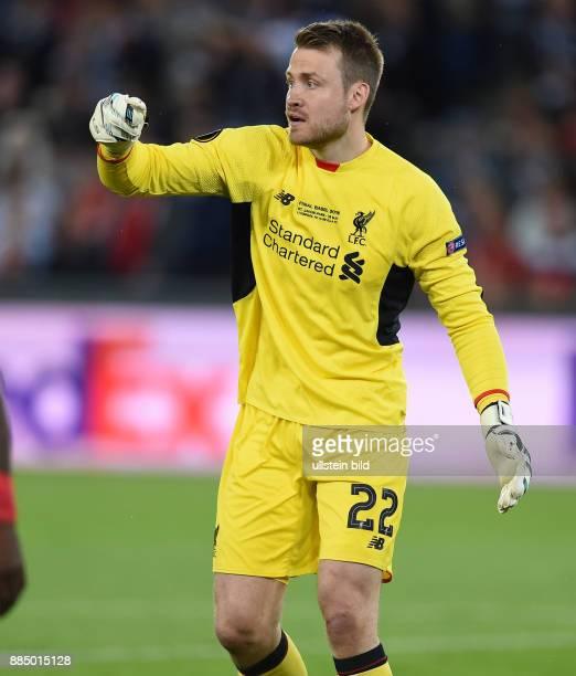 FUSSBALL UEFA FC Liverpool FC Sevilla Torwart Simon Mignolet