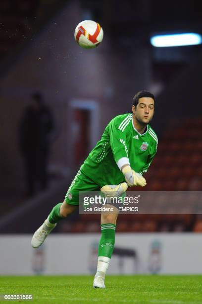 Liverpool goalkeeper Dean Bouzanis