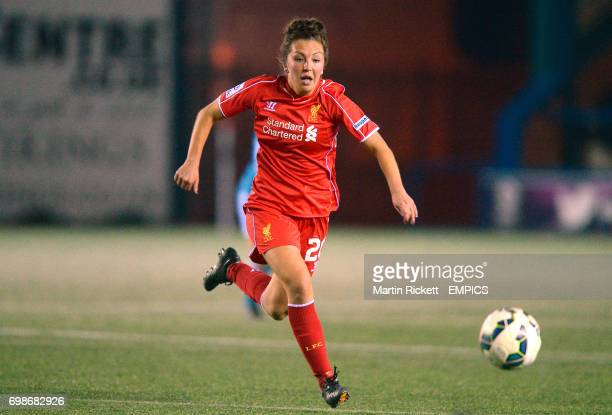 Liverpool Ladies Katie Zelem in action during the FA Women's Super League match against Sunderland Ladies