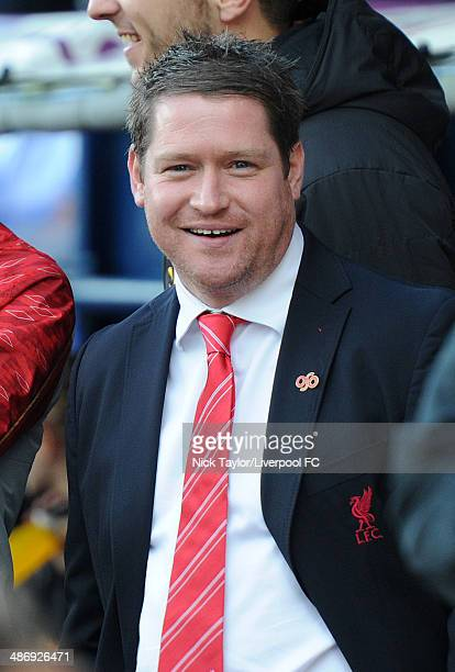 Liverpool Ladies manager Matt Beard before the Women's FA Cup quarter final tie between Liverpool Ladies and Everton Ladies at Select Security...