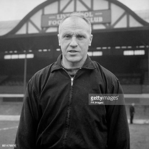 Liverpool manager Bill Shankly at Anfield