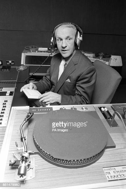 Liverpool manager Bill Shankly at Radio City a Liverpool commercial radio station who have 'signed' Shankly to do some interviews