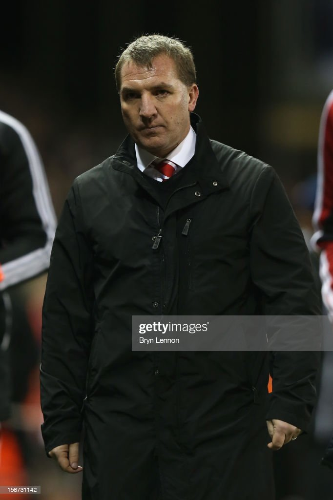 Liverpool Manager Brendan Rodgers heads for the dressing room at the end of the Barclays Premier League match between Stoke City and Liverpool at the Britannia Stadium on December 26, 2012, in Stoke-on-Trent, England.