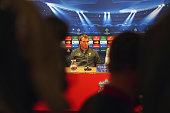 Liverpool manager Brendan Rodgers talks to the media during a press conference ahead of their UEFA Champions League group B match against PFC...