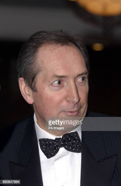 Liverpool Manager Gerard Houllier during the PFA's annual dinner at the Meridien Grosvenor House Hotel in London's Park Lane THIS PICTURE CAN ONLY BE...