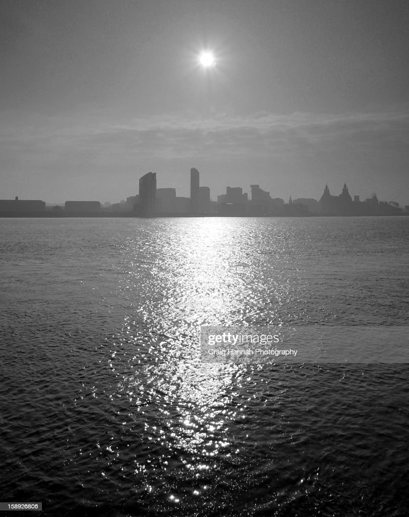 Liverpool skyline : Stock Photo