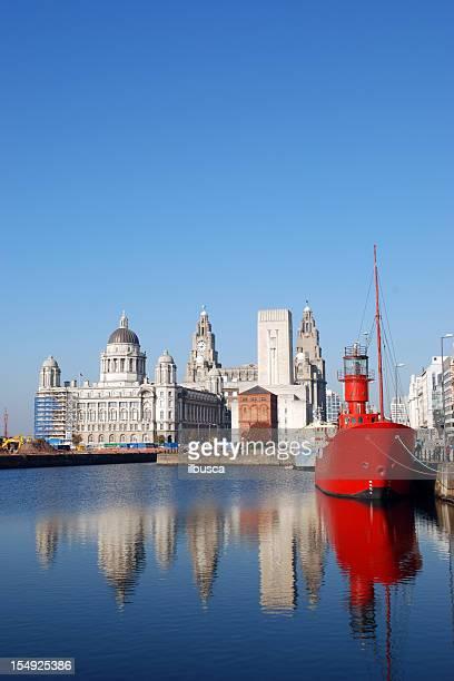 Liverpool skyline vertical