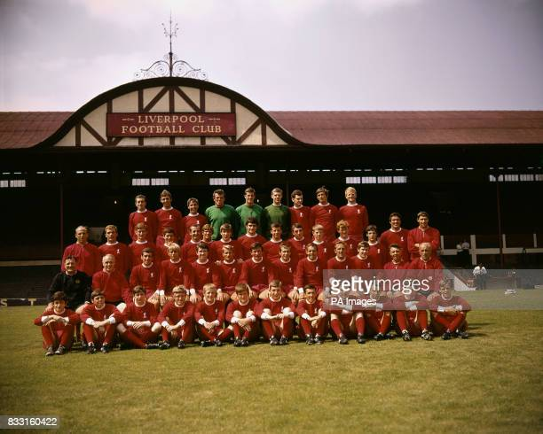 Geoff Strong Gerry Byrne Chris Lawler Tommy Lawrence Ray Clemence Larry Lloyd Ian Ross Alec Lindsay Ian Callaghan Alun Evans Roger Hunt Tommy Smith...