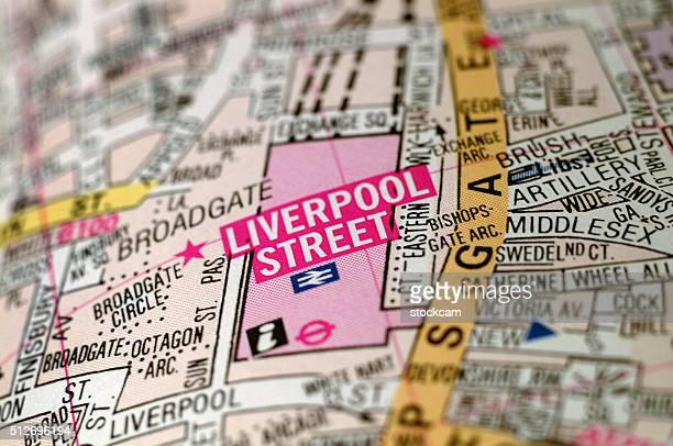 Liverpool Street London Map