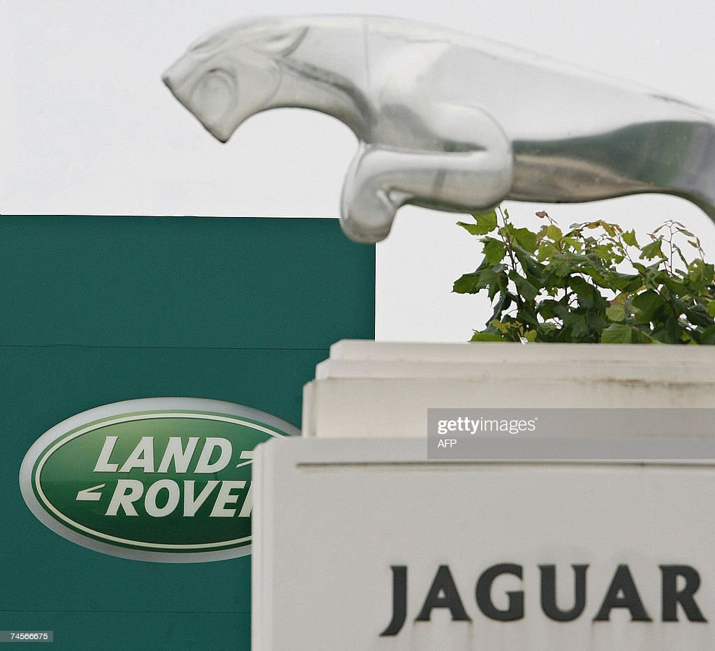 The Landrover and Jaguar car manufacturing plant is pictured at Halewood in Liverpool in northwest England 12 June 2007 Union leaders were seeking...