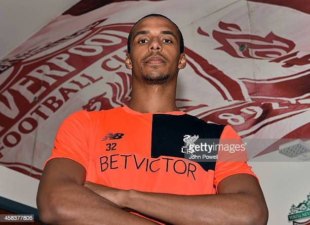 Liverpool Unveil New Signing Joel Matip at Melwood Training Ground on July 2 2016 in Liverpool United Kingdom