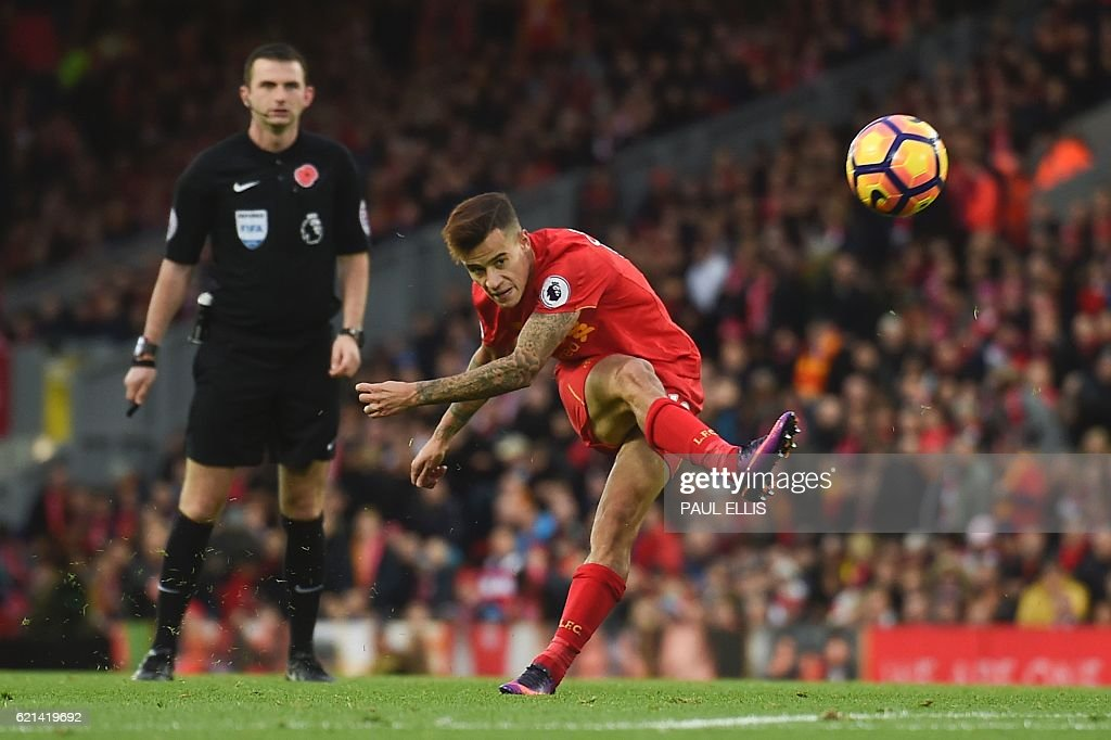 FBL-ENG-PR-LIVERPOOL-WATFORD : News Photo