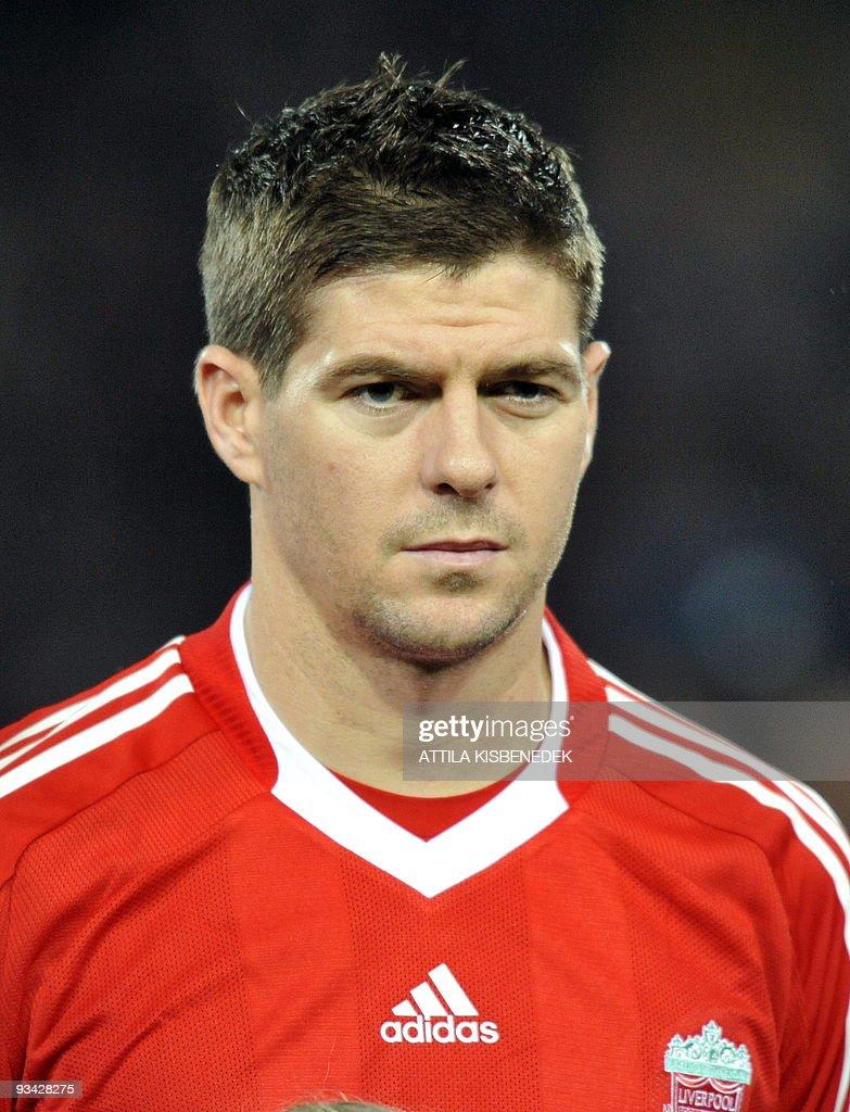 FC Liverpool s captain Steven Gerrard is