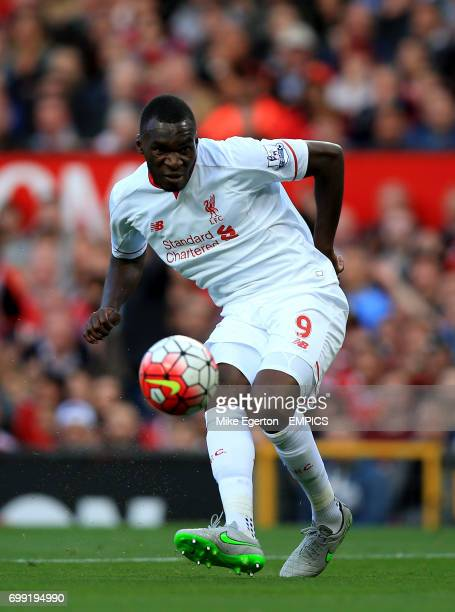 Liverpool's Christian Benteke in action