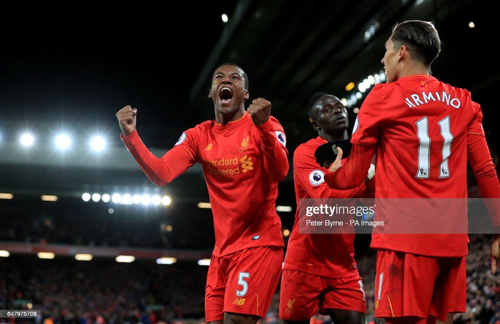 Liverpool v Arsenal - Premier League - Anfield : News Photo