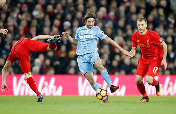 Liverpool v Stoke City - Premier League - Anfield : News Photo