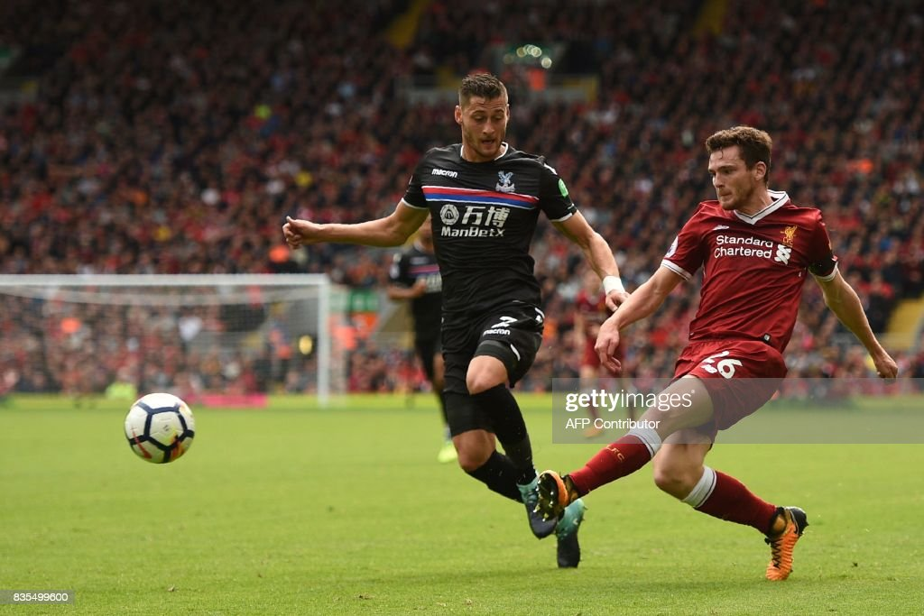 FBL-ENG-PR-LIVERPOOL-CRYSTAL PALACE : News Photo