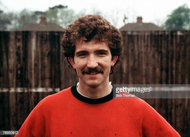 Liverpool's Scottish international midfielder Graeme Souness poses for the camera