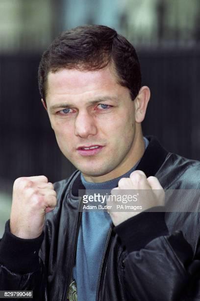 Liverpool's WBC Featherweight world champion Paul Hodkinson
