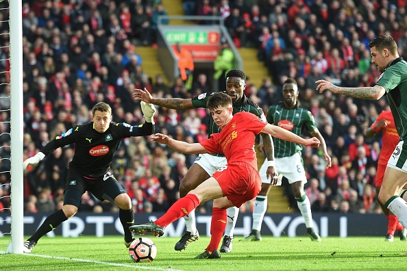 FBL-ENG-FACUP-LIVERPOOL-PLYMOUTH : News Photo