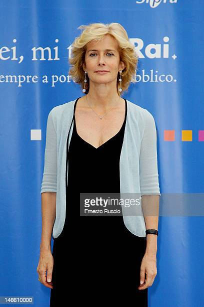 Livia Azzariti attends the Palinsesti Rai photocall at Cavalieri Hilton Hotel on June 20 2012 in Rome Italy