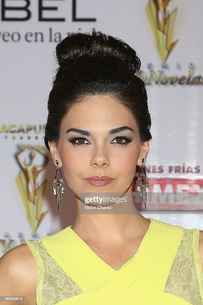 Livia Brito attends the Premios Tv y Novelas 2014 at Televisa Santa Fe on March 23, 2014 in Mexico City, Mexico.