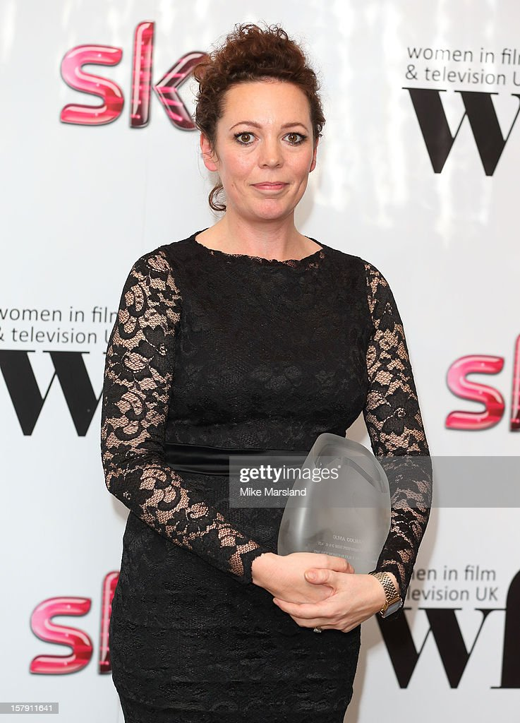 livia Colman attends the Women in TV & Film Awards at London Hilton on December 7, 2012 in London, England.