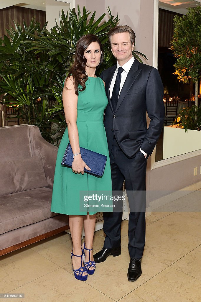 Livia Firth and Colin Firth attend an intimate dinner celebrating Chopard's Journey to Sustainable Luxury hosted by Colin Livia Firth and Caroline...