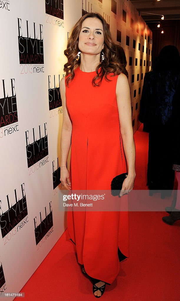 Livia Firth arrives at the Elle Style Awards at The Savoy Hotel on February 11, 2013 in London, England.
