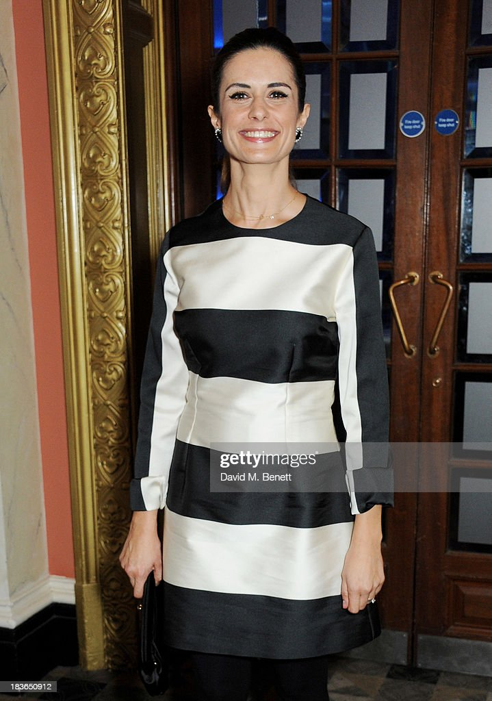 Livia Firth attends a BFI Luminous Gala ahead of the London Film Festival at 8 Northumberland Avenue on October 8, 2013 in London, England.