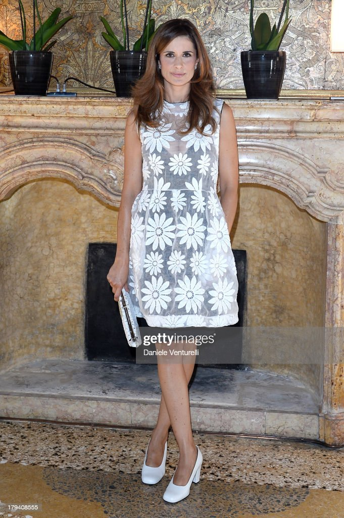 Livia Firth attends Chopard during the 70th Venice International Film Festival at Palazzo Papadopoli on September 3 2013 in Venice Italy