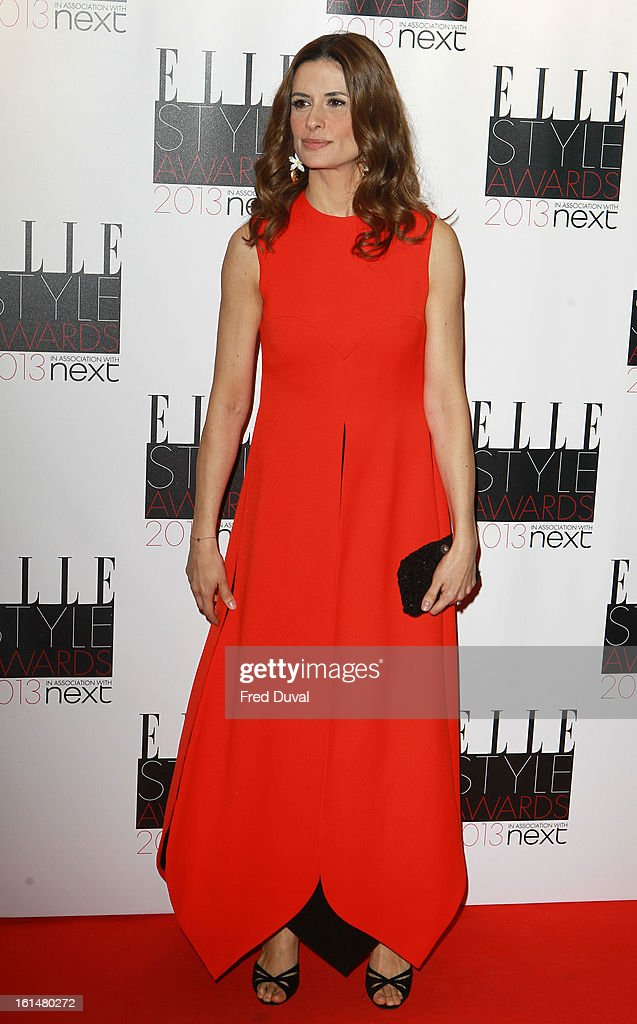 Livia Firth attends Elle Style Awards Outside Arrivals on February 11, 2013 in London, England.