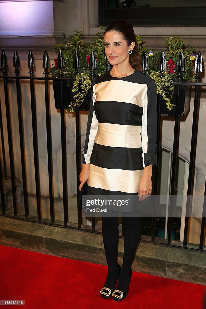 Livia Firth attends the BFI Gala Dinner at 8 Northumberland Avenue on October 8, 2013 in London, England.