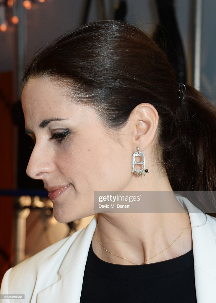 Livia Firth attends the Bottletop Regent Street store launch on May 24, 2016 in London, England.
