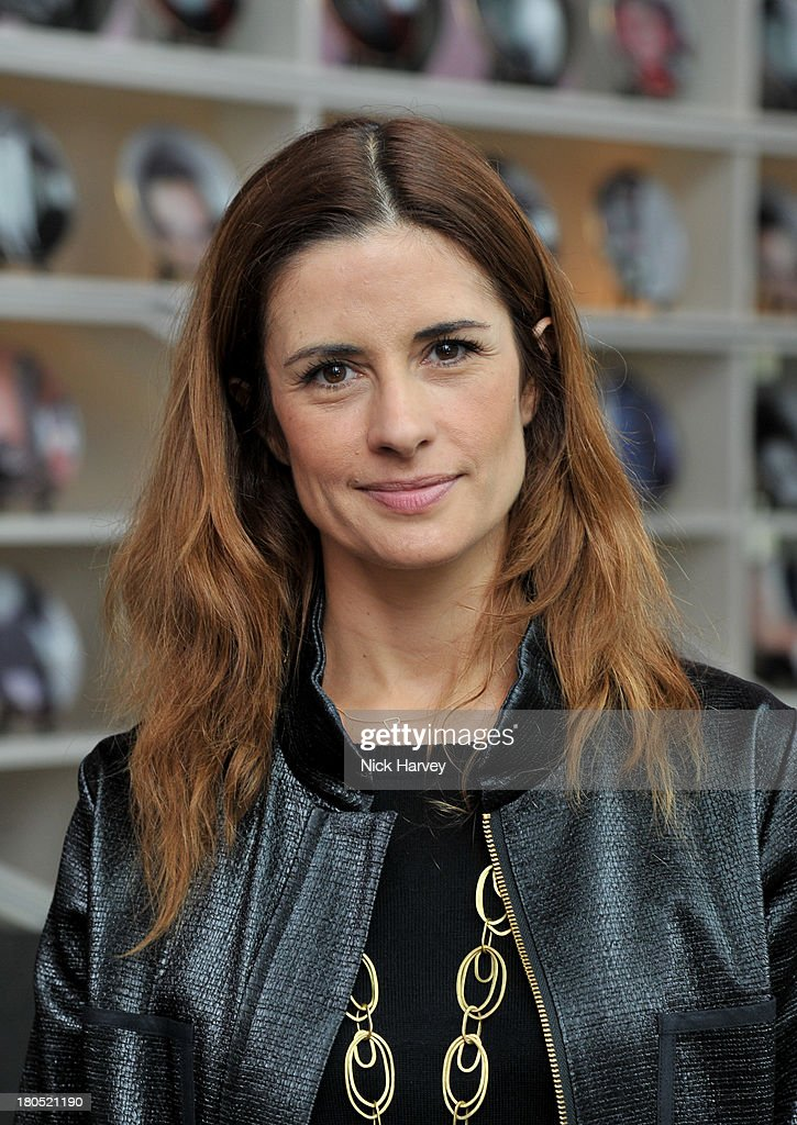 Livia Firth attends the Eco-Age and Green Carpet Challenge screening of Handprint at W London - Leicester Square on September 14, 2013 in London, United Kingdom.