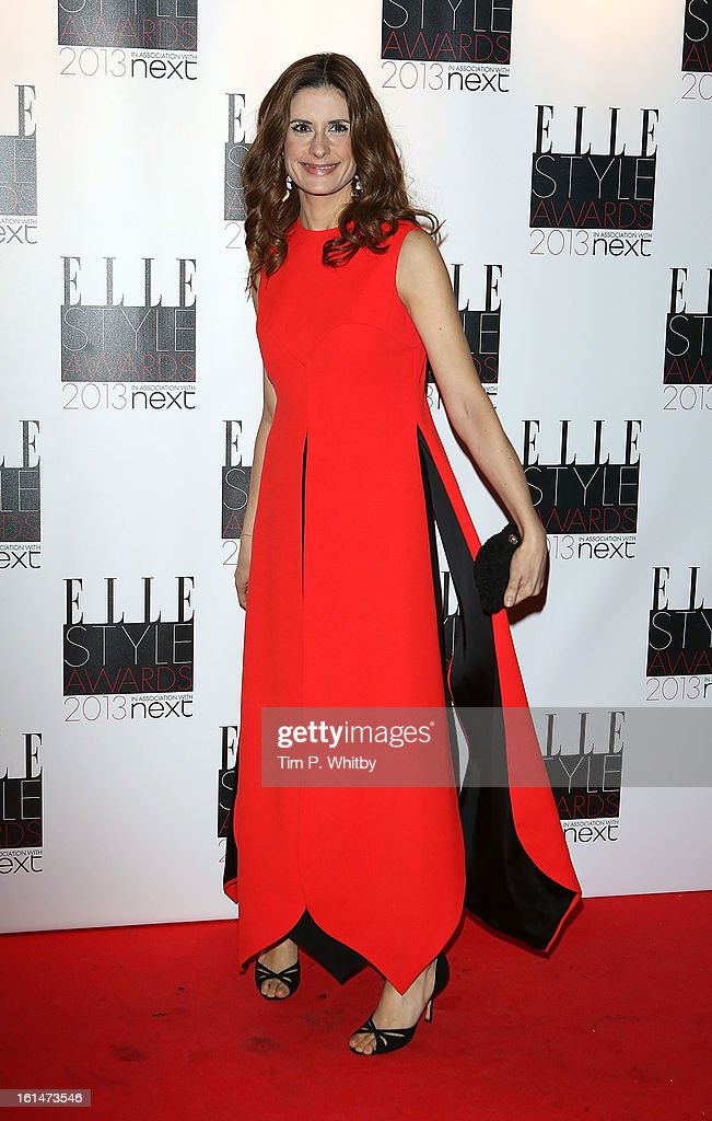 Livia Firth attends the Elle Style Awards at Savoy Hotel on February 11, 2013 in London, England.
