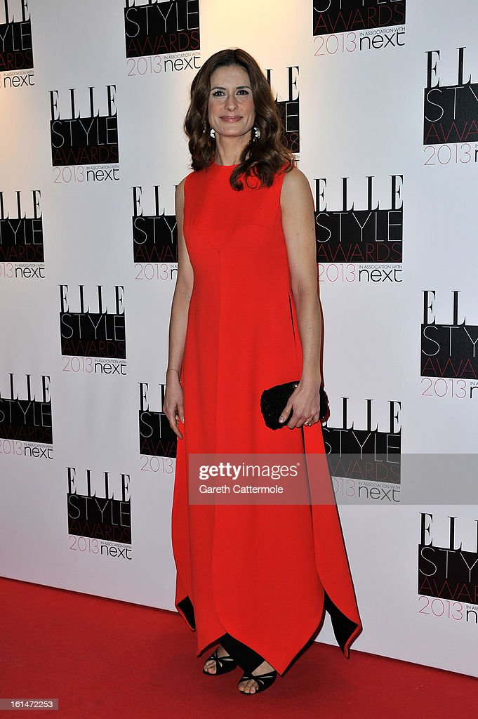 Livia Firth attends the Elle Style Awards at The Savoy Hotel on February 11, 2013 in London, England.