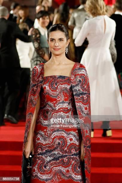 Livia Firth attends The Fashion Awards 2017 in partnership with Swarovski at Royal Albert Hall on December 4 2017 in London England