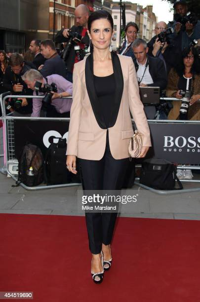 Livia Firth attends the GQ Men of the Year awards at The Royal Opera House on September 2 2014 in London England