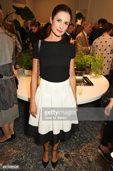Livia Firth attends the launch of the first Erdem flagship store on September 9 2015 in London England