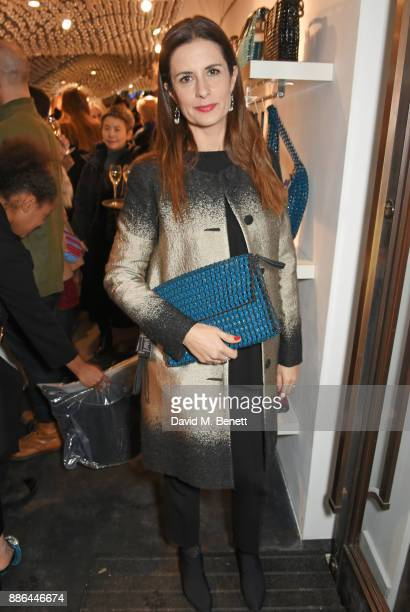 Livia Firth attends the opening of the BOTTLETOP flagship store on Regent Street on December 5 2017 in London England