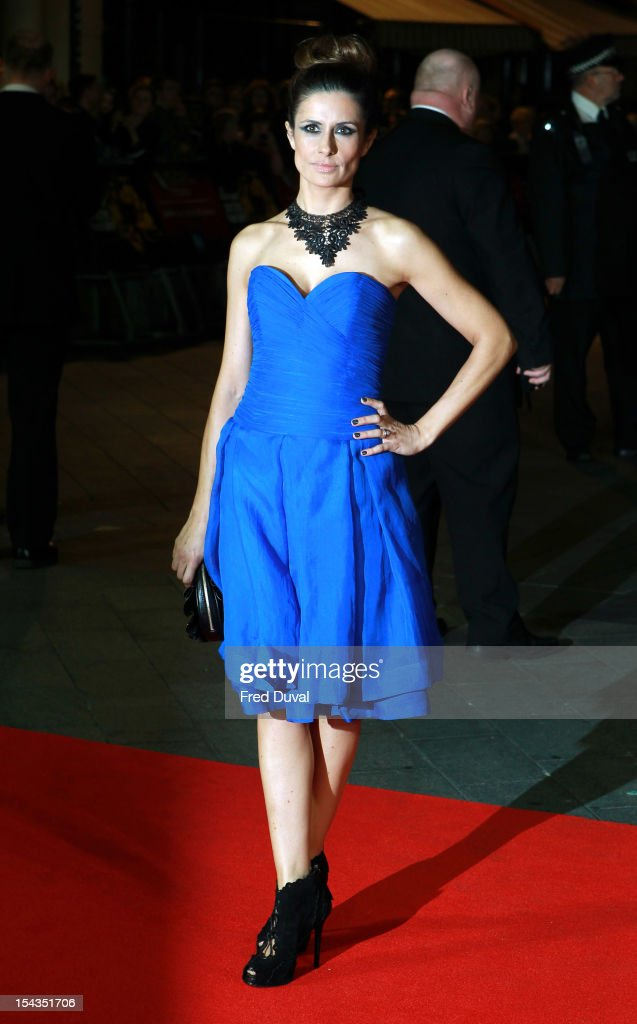 Livia Firth attends the Premiere of 'Crossfire Hurricane' during the 56th BFI London Film Festival at Odeon Leicester Square on October 18, 2012 in London, England.